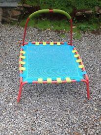 Children's mini trampoline