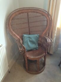 Vintage Peacock Chair