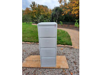 4 Drawer Home Office Filing Cabinet in Light Grey by Initiative