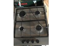Stainless Steel 4 Burner Gas Hob (never used)