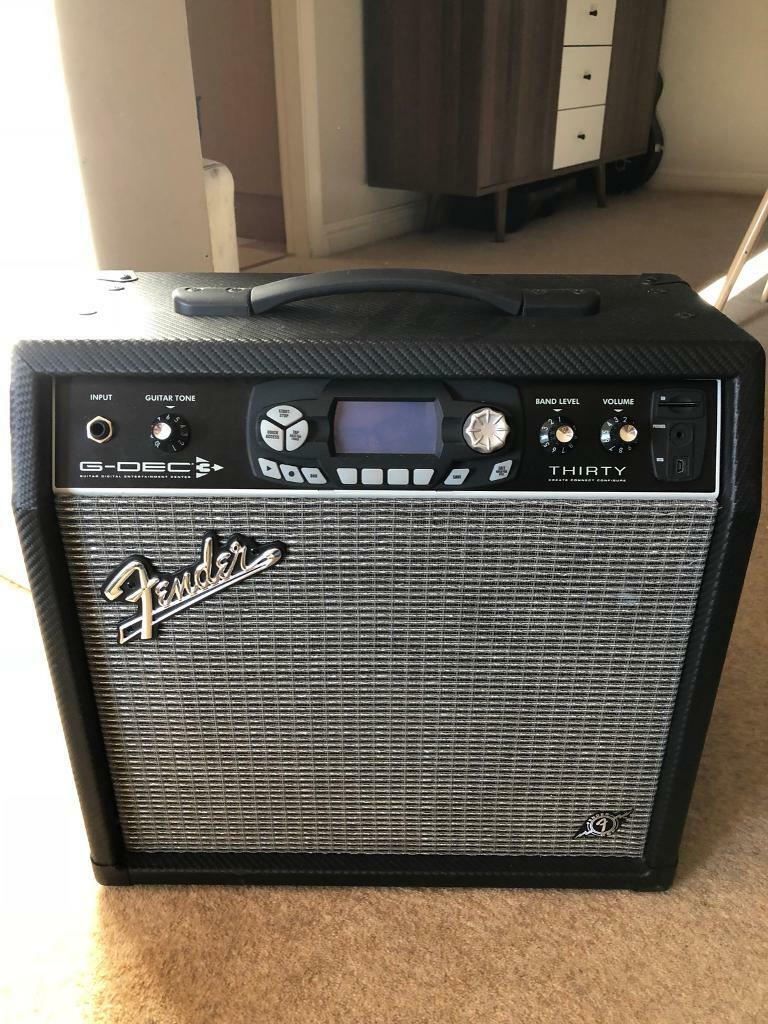 fender g dec 3 modelling and effects 30w amp amplifier electric guitar in newton aycliffe. Black Bedroom Furniture Sets. Home Design Ideas