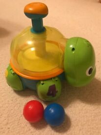 Turtle Ball Push and Spin