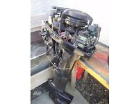 Mercury 15hp 2 stroke outboard engine, low pressure, no remote £300 o.n.o