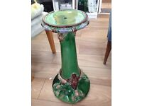 very nice antique plant stand 2ft tall