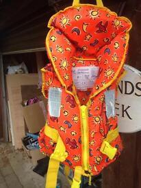 Kids life jacket/buoyancy aid