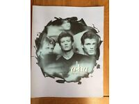 A-HA Stay on These Roads Tour Programme 1988