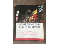Advertising & Public Relations textbook