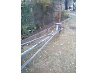 Boat trailer galvanised chassis good tyres