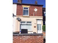 ***LET BY**3 BEDROOM TOWN HOUSE-CAVOUR STREET-ETRURIA-LOW RENT-NO DEPOSIT-DSS ACCEPTED-PETS WELCOME^