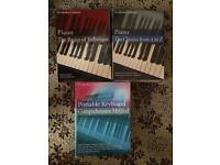 Really good books for piano learning bundle