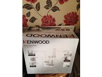 For sale Kenwood FL120 Food processor as new box unopened