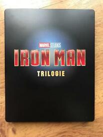 Iron Man 4K UHD BluRay steelbook, 6 DVDs!