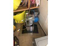 Cooker set microwave hot plat 6 ringer integrated