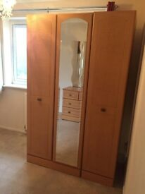Cupboard and Chest of Drawers
