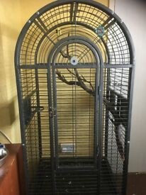 large parrot cage about 5 x 3 x 2ft