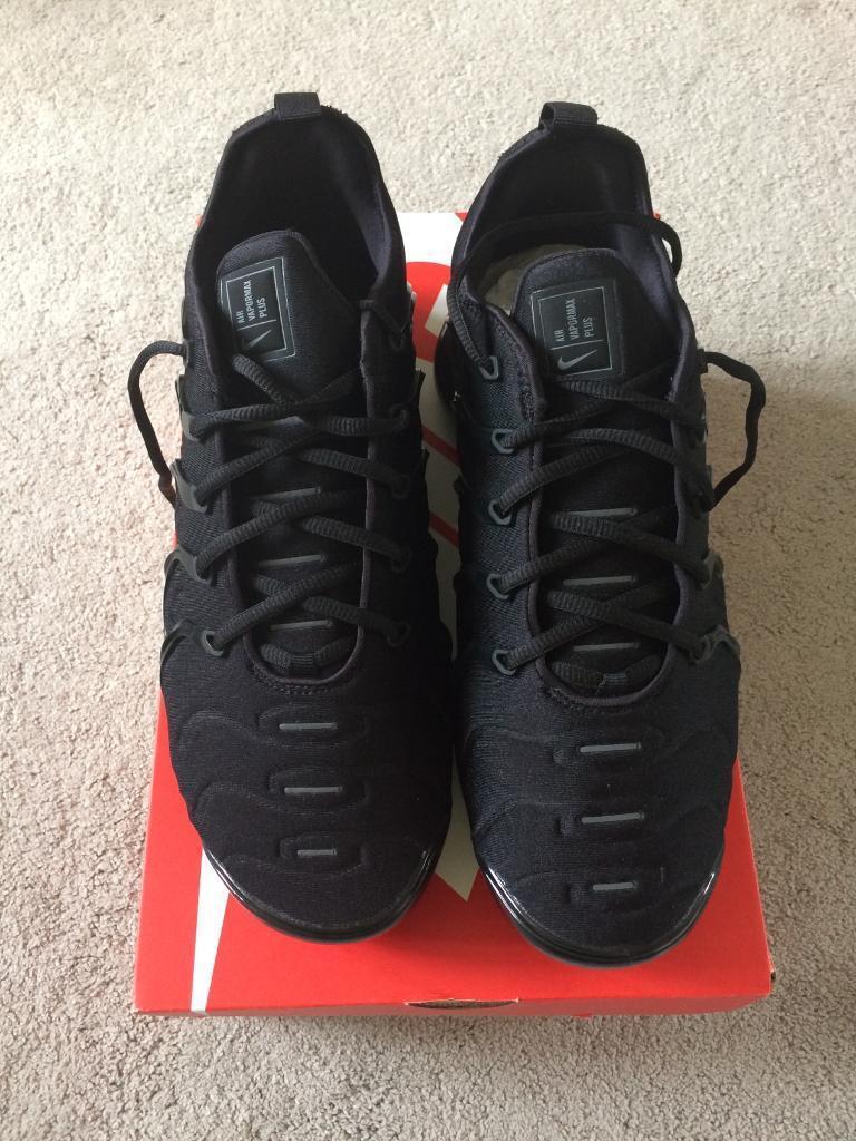 81cc51c8916cd Nike Vapormax Plus triple black never worn