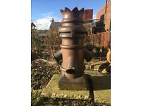 RARE VICTORIAN GLAZED CHIMNEY POT