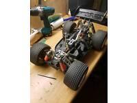Custom built 1/8 brushless rc