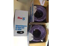 CAT5e 'Mini5' UTP Gigabit Cable 305 mtr