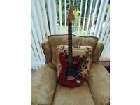 Fender Candy Apple Red Stratocaster