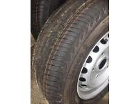 Ford transit custom wheel & tyre. 215/65R/15c