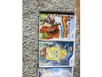 Collection of 4 wii games/Nintendo/gaming/job lot