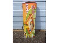Wooden Sand Box Kids Sandpit Sandbox Outdoor Garden Play