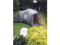 Tent. Outwell hartford L sleeps upto 6/8 people
