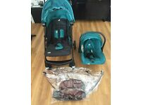 Joie from Mamas & Papas Extoura Travel System - Teal