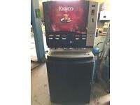 Kenco coffee vending machine