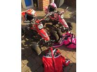 Mini quad bike 2 stroke petrol