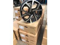"4 18"" alloy wheels alloys rims tyre tyres audi seat Skoda audi vw Volkswagen 5x112"