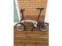 Brompton S2L Black Edition 2015 Folding Bike *Limited Edition* Only 5000 made