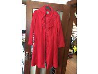 Ladies Per Una Red Coat