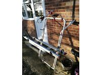 Fiamma T5 Bicycle rack for Volkswagon camper van. Will take 2 bicycles. Can be increased to take 3