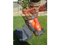 LAWN MOWER .ELECTRIC FLYMO. PACK -A- MOW
