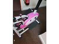cross trainer in pink