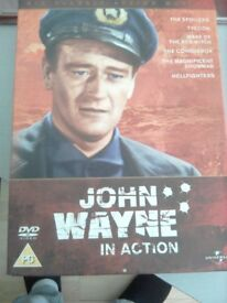 John Wayne in action Six classic action movies