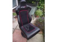 GIO-TECK PROFESSIONAL GAMING CHAIR