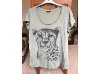 Size 14 leopard woman's top