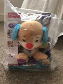 Fisher Price Laugh and Learn Puppy. New and sealed