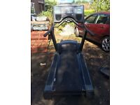 Commercial life-fitness 9500HR next generation treadmill SPARES OR REPAIRS.