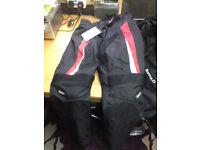 For Sale motor bike clothing, motorbike, motorcycle, bottoms, jackets, helmet etc