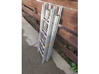 12ft Survey Ladders (4 piece sectional)