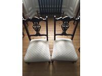 Pair of nursery chairs