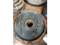 4 weights plates 2kg