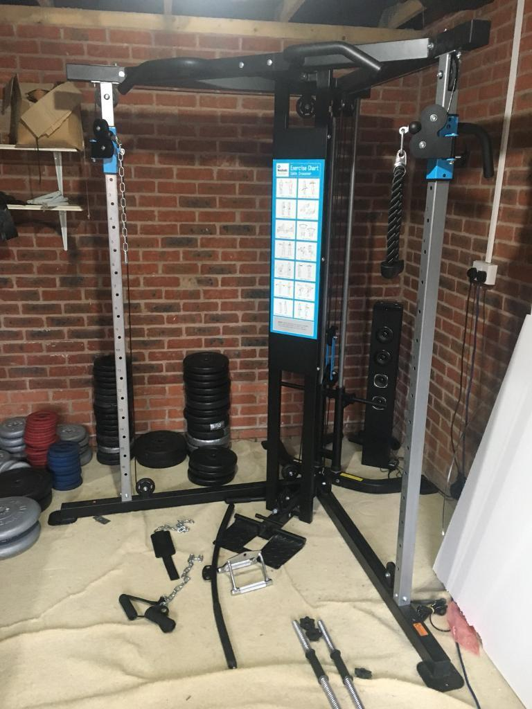 Men's health cable cross over multi gym