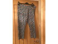Ladies size 16-18 leggings from Sainsburys worn once