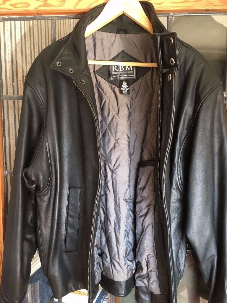 Black leather jacket, Mens Mediumin Locks Heath, HampshireGumtree - RBM Black lamb leather jacket, Mens Medium in mint condition , cleaned comes from a smoke and pet free home £25 for local collection only from SO31 or SO17 areas, thanks for looking