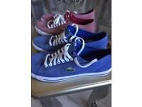 2 pairs Lacoste never worn